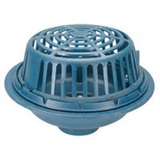 Zurn 15-inch Diameter Round Cast Iron/ Poly Roof Drain