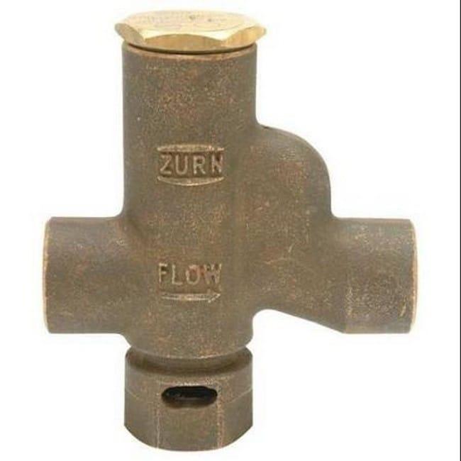 Zurn Trap Primer 0.50 IP Automatic Bronze Z1022-XL-1/2-IP...