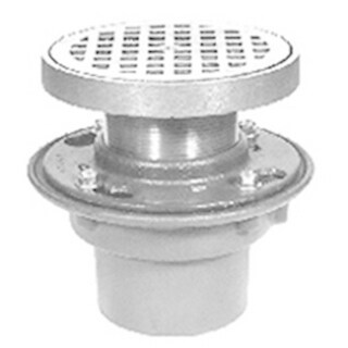 "Zurn Floor Drain 6"" Diameter Adjustable Round ZN415-3NL-6B"