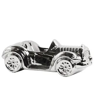 Ceramic Decorative Car Chrome Silver