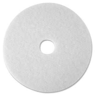 3M White Polish Floor Pad 4100 - 5/CT