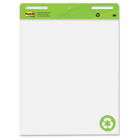 Post-it Recycled Self-Stick Easel Pad - 2/CT