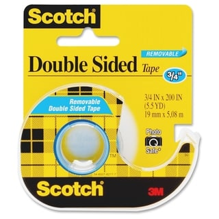 Scotch Double-Sided Tape - 1/RL|https://ak1.ostkcdn.com/images/products/10914841/P17945770.jpg?impolicy=medium