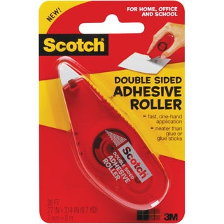 Scotch Double-Sided Adhesive Roller - 1/EA