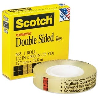 Scotch Double-Sided Tape - 1/RL|https://ak1.ostkcdn.com/images/products/10914854/P17945777.jpg?impolicy=medium