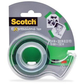 Scotch Expressions Matte Finish Magic Tape - 1/RL