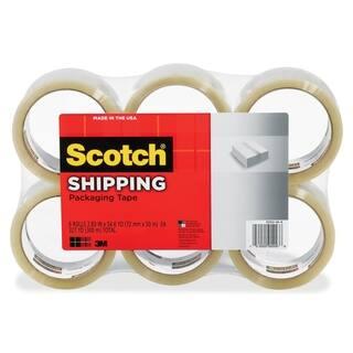 Scotch Light-Duty Box Sealing Packaging Tape - 6/PK|https://ak1.ostkcdn.com/images/products/10914919/P17945747.jpg?impolicy=medium