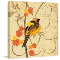 Marmont Hill - Hooded Oriole III by Evelia Painting Print on Canvas