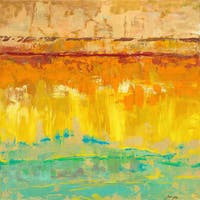 Marmont Hill Julie Joy 'Beyond Borders II' Painting Print on Canvas - Multi-color