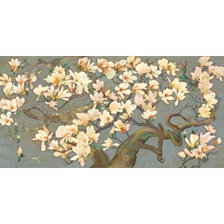 Marmont Hill - Magnolia Branches IV by Evelia Painting Print on Canvas