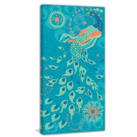 Marmont Hill - Peacock Of Peoria by Evelia Painting Print on Canvas