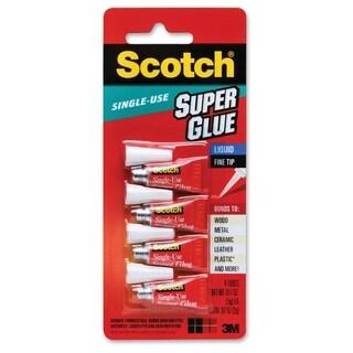 Scotch Single Use Super Glue - 4/PK