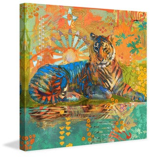 Marmont Hill - South China Tiger by Evelia Painting Print on Canvas