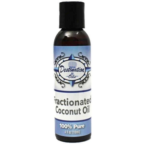 Destination Oils 4 oz  Fractionated Coconut Oil Carrier for Essential Oils