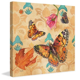 Marmont Hill - Painted Lady Buttery by Evelia Painting Print on Canvas