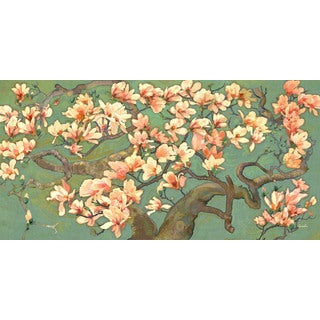 Marmont Hill - Magnolia Branches II by Evelia Painting Print on Canvas