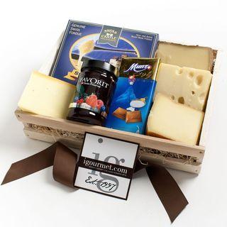igourmet A Gourmet Taste of Switzerland Gift Crate