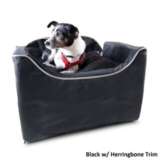 Snoozer Lookout I Luxury Microsuede Pet Car Seat