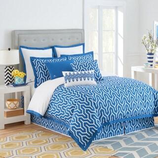 Jill Rosenwald Plimpton Flame Reversible Comforter Set