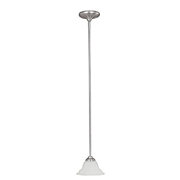 Capital Lighting Chandler Collection 1-light Matte Nickel Mini Pendant