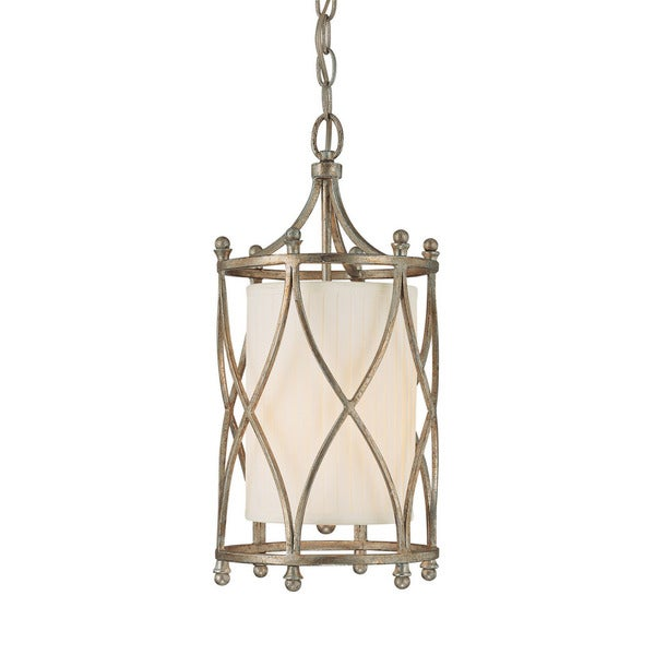 Capital Lighting Fifth Avenue Collection 2-light Winter Gold Mini Pendant