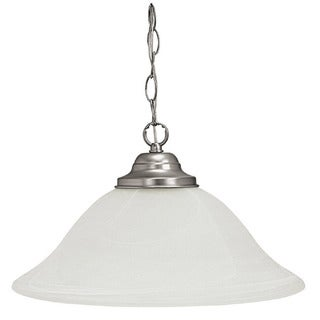 Capital Lighting Transitional 1-light Matte Nickel Pendant