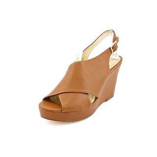 Style & Co Women's 'Stilla' Faux Leather Wedges Sandals
