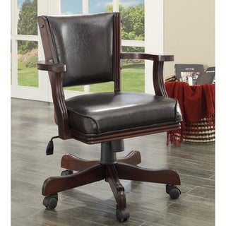 Furniture of America Preston Upholstered Game Arm Chair