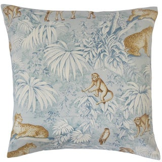 Ender Graphic 18- inch Throw Feather and Down Filled Throw Pillow