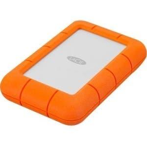 LaCie Rugged Mini LAC9000633 4 TB Hard Drive - External - Portable - Orange