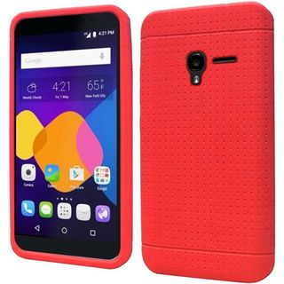 Insten Rugged Soft Silicone Skin Rubber Case Cover For Alcatel One Touch Elevate