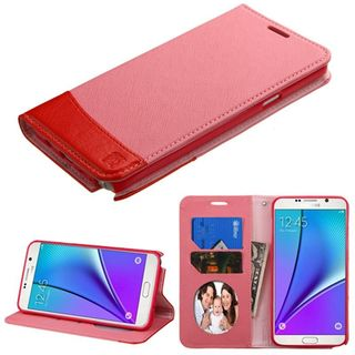 Insten Leather Case Cover with Stand/ Wallet Flap Pouch/ Photo Display For Samsung Galaxy Note 5