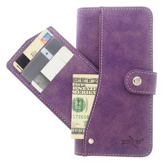 Insten Leather Furry Case Cover Pocket wallet with Stand/ Wallet Flap Pouch For Samsung Galaxy Note 5