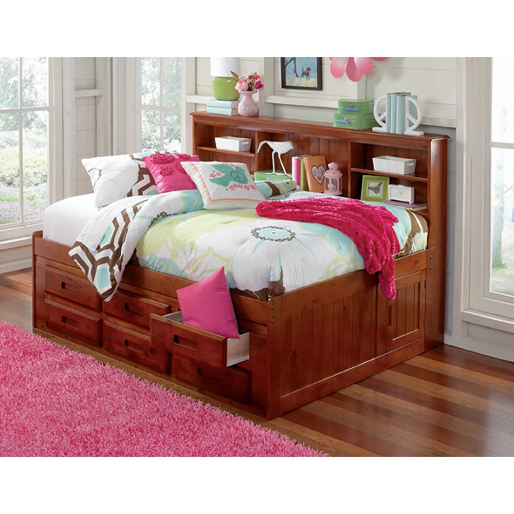 Shop Full Daybed 6 Drawer Storage Unit On Sale Overstock
