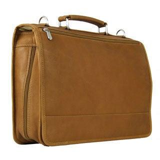 Piel Leather 2-section Expandable Laptop Portfolio