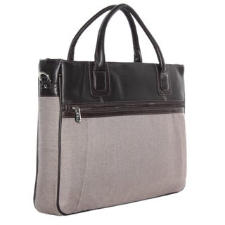 Piel Leather Slim Laptop Brief (2 options available)