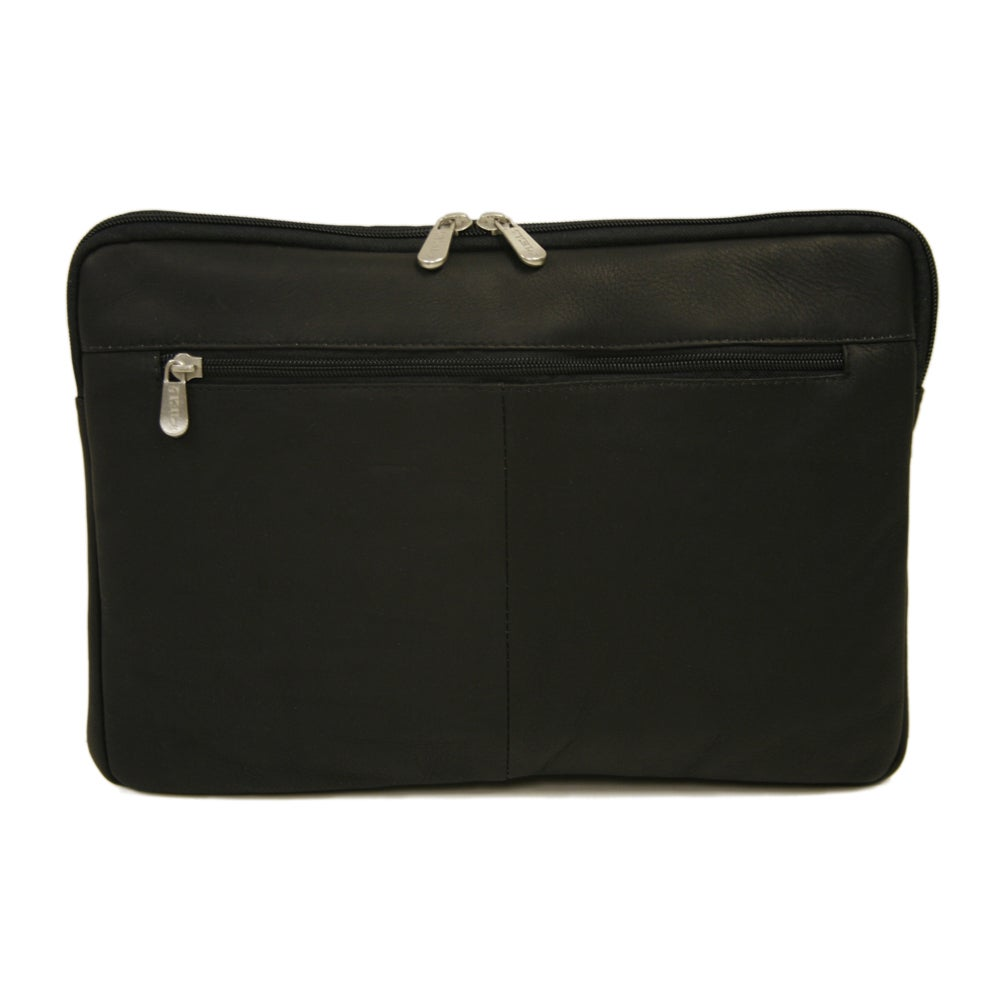 Piel Leather 15-inch Zip Laptop Sleeve (Black), Size 13 -...