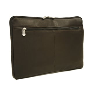 Piel Leather 17-inch Zip Laptop Sleeve