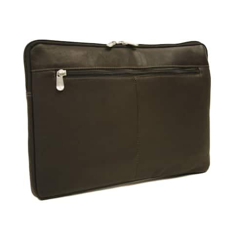 Piel Leather 17-inch Zip Laptop Sleeve