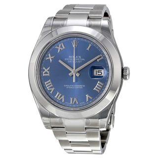 Rolex Men's Datejust II Blue Dial Watch