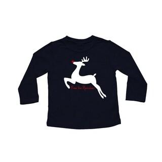 Rocket Bug 'Free the Reindeer' Baby Bodysuit