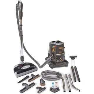 Reconditioned Rainbow E Series E2 2-speed Bagless Pet HEPA Vacuum Cleaner with New GV Head Tools and Accessories