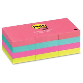 Post-it Cape Town Notes - 12/PK
