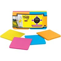 Post-it Super Sticky Full Adhesive Note - 12/PK