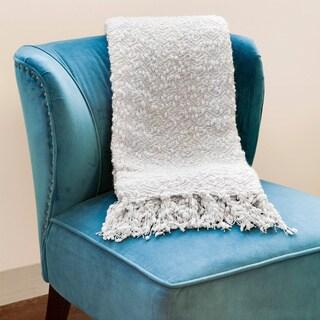 Popcorn Style Throw Blanket