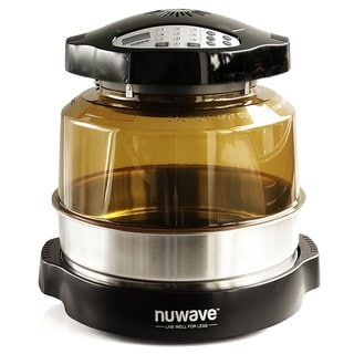 NuWave 20632 Oven Pro Plus with PEI Dome + Stainless Steel Extender Ring