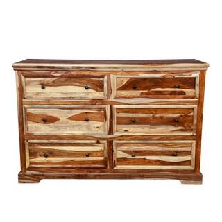 Porter Taos Solid Sheesham 6-drawer Dresser (India)