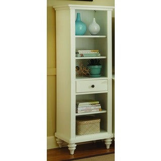 Bermuda Brushed White Pier Cabinet by Home Styles