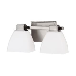 Capital Lighting Transitional 2-light Brushed Nickel Bath/Vanity Light