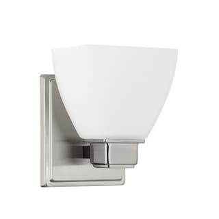 Capital Lighting Transitional 1-light Brushed Nickel Wall Sconce